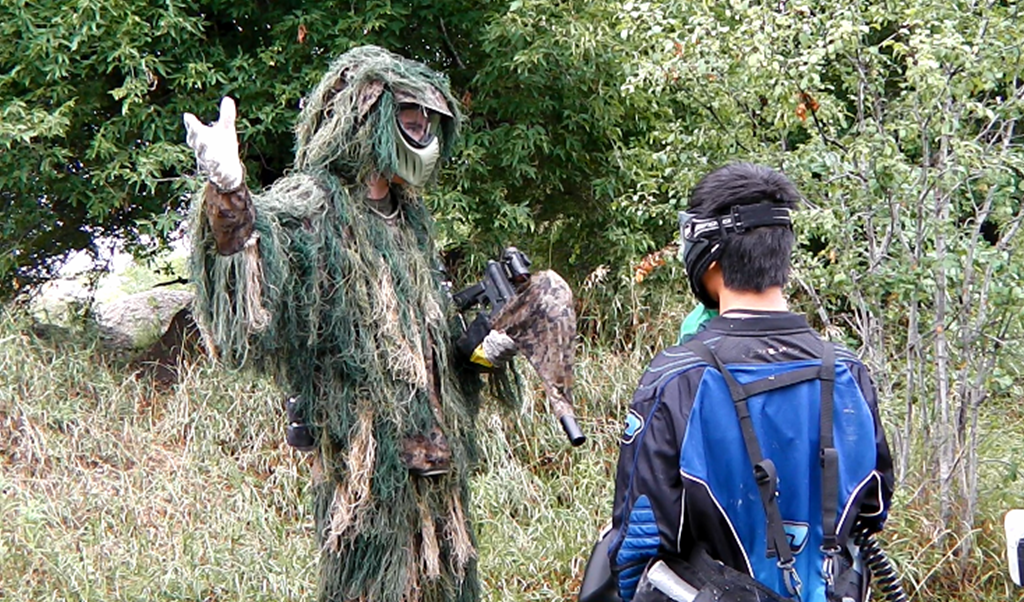 paintball - gilly suit